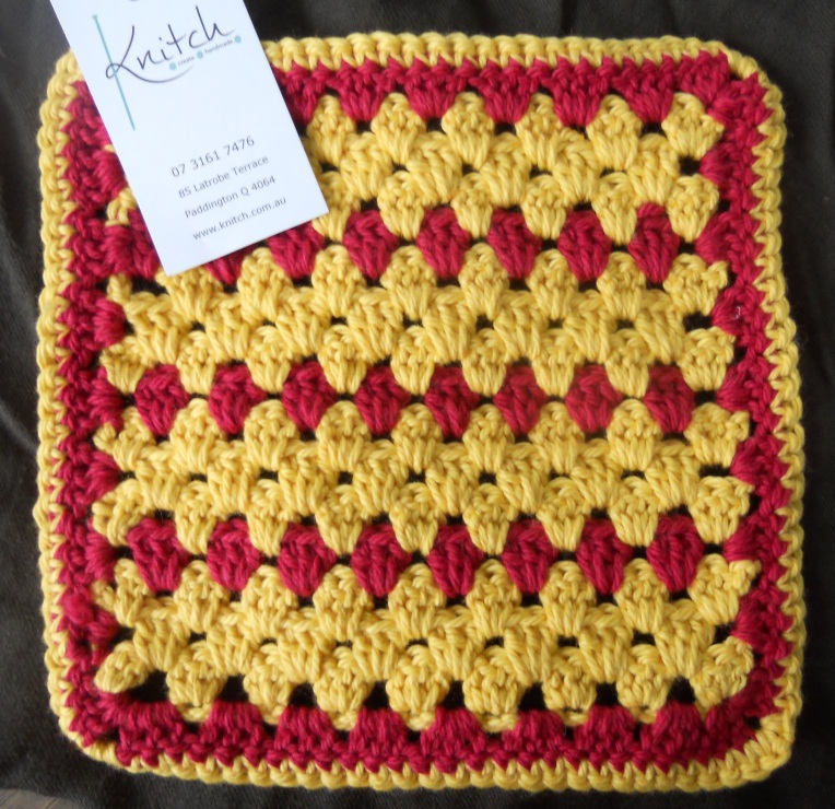 Yellow Red Knitch