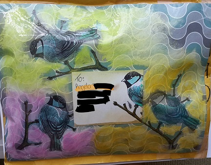 Aussie Magpie Journal with Envelop