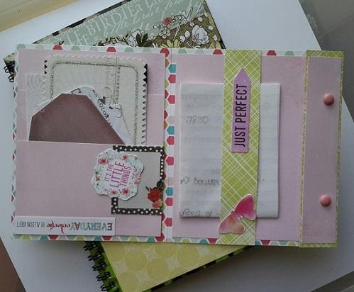 Aussie Magpie Journal with Flip Book extra