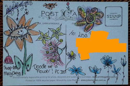 Doodle me a Flower PC Intl