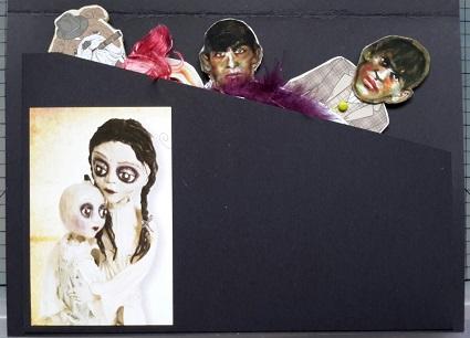 Junker Jane Paper Doll in the envelop