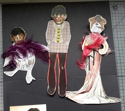 Junker Jane Paper Doll