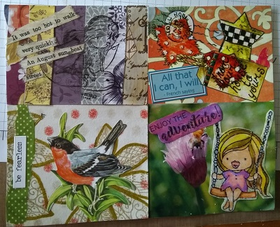 Amazing Mail ART: Pass and Paste #54