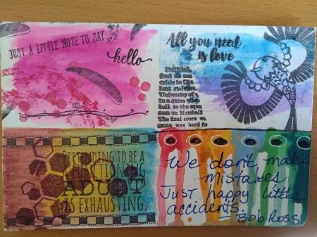 Amazing Mail ART: HD/HP Pass and Paste #51