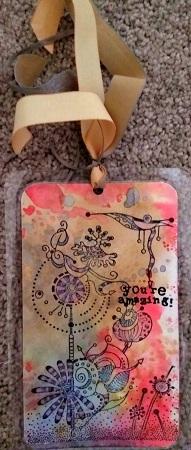 Australasian Swappers: AS: Handmade Bookmark