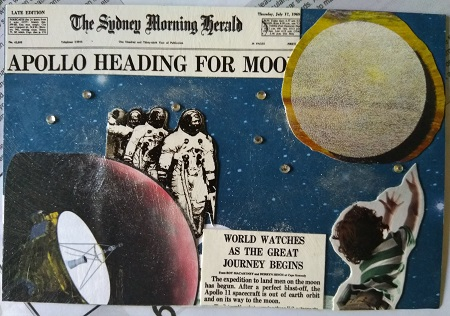 Amazing Mail ART: Intl Up Above the World so High