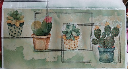 Crafty Recyclers:TNapkin Collaged Mail Art -February