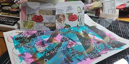 Amazing Mail ART: Mail Art Sticker Art- May 2020