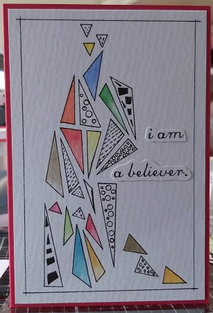 Amazing Mail ART: Art with Triangles - September 2020