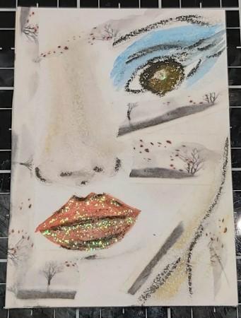 Amazing Mail ART: Facetime ATC - January 2021