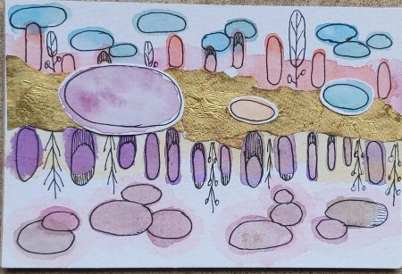 Amazing Mail ART: Art with Ovals - January 2021