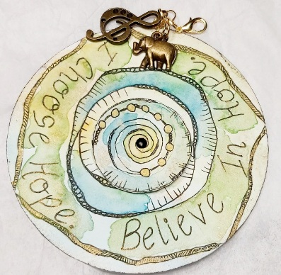 Amazing Mail ART: What's your Word - March 2021