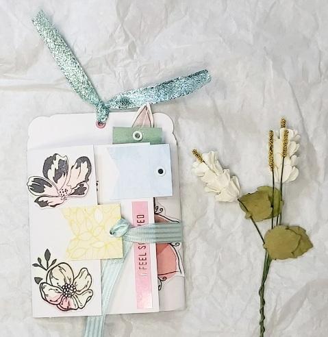 Mini Artwork: Floral Mini Flipbook # April 2021