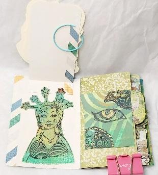 Mini Artwork: Green Theme Mini Flipbook # February 2021