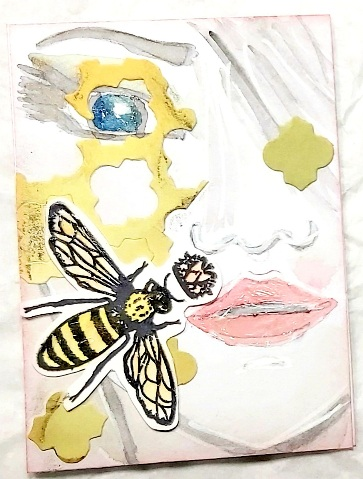 Amazing Mail ART: Facetime ATC - March 2021