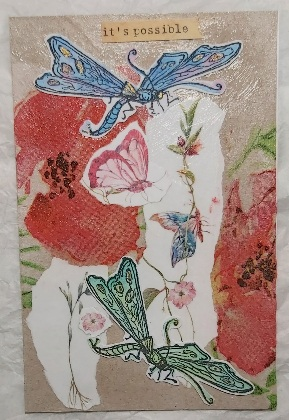 Crafty Recyclers: Intl: Dragonfly Mail Art - April 2021