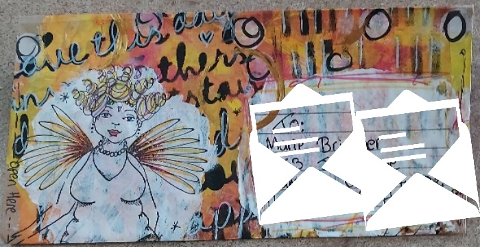 Crafty Recyclers: Decorated Paper Bag Letter July 2021