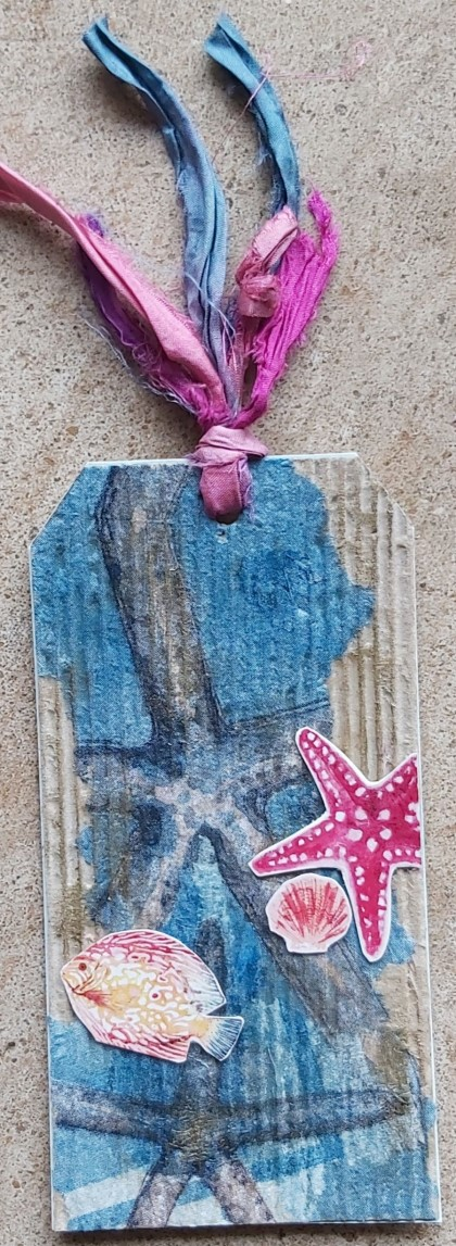 MAE: TAG SWAP 2 for 2: NAPKIN DECOUPAGE August 2021